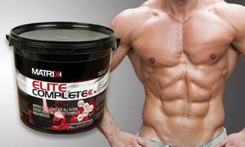 Протеин матрикс и мужской торс