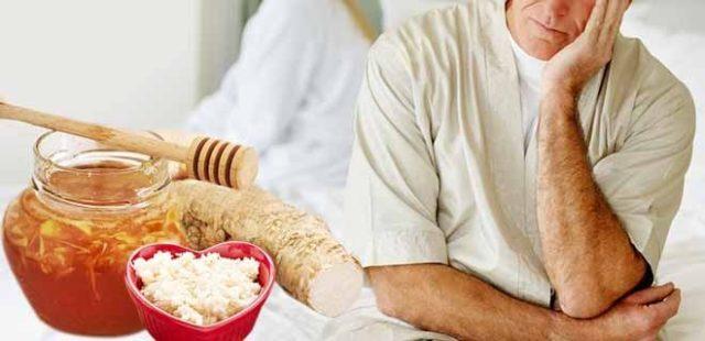 хрен для потенции мужчин рецепты